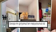 Almanya'da Yaşayan Türk Ailenin Koronavirüs Önlemi İçin Yaptığı Alışveriş Yok Artık Dedirtti