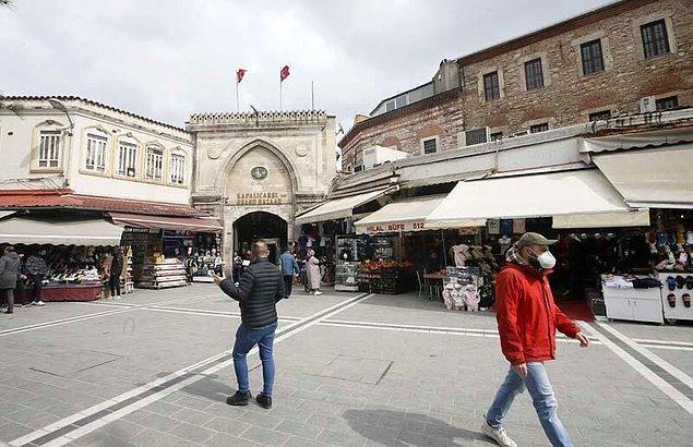 Turist sayısı azaldı, sokaklar boş