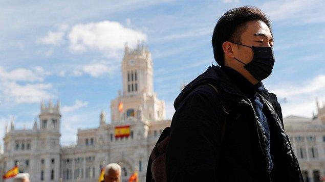 İspanya'da bir günde 2 bin yeni vaka