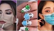 Evde Durmak Herkese Yaramadı: Moda ve Makyaj Dünyasını Ele Geçiren Koronavirüs Trendi