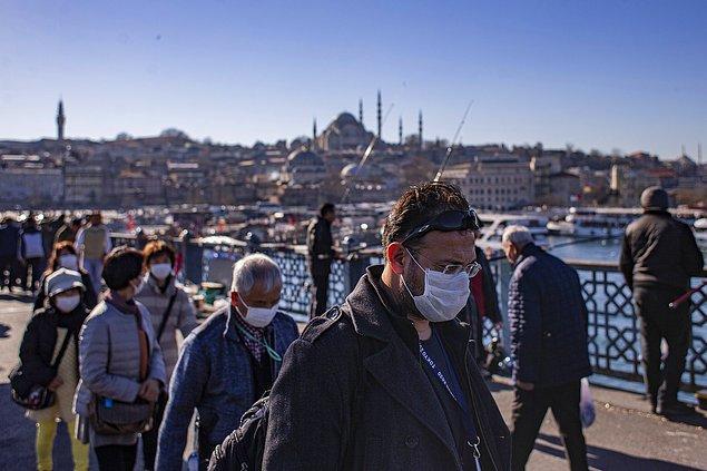 Koronavirüs salgınının Türkiye'deki seyri ise şu şekilde 👇