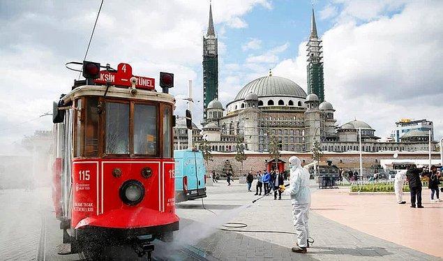 11 Mart'tan itibaren Türkiye'deki vaka sayıları 👇