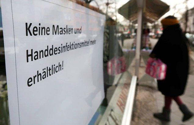 Almanya'da virüsün yayılma hızı yavaşladı