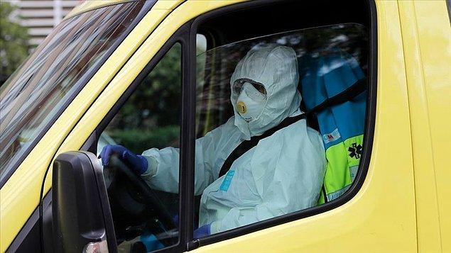 İspanya'da koronavirüs yüzünden bir günde ölenlerin sayısı 394'e yükseldi