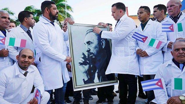 Kübalı doktorlar İtalya'ya gidiyor