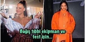 Kraliçe Yine Çaldı Kalbimizi! Rihanna Koronavirüs ile Mücadele Eden Bir Derneğe 5 Milyon Dolar Bağışladı