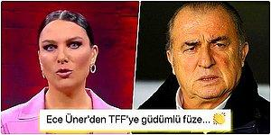 Ece Üner, Fatih Terim'in Koronavirüse Yakalanmasına Sebep Olan Türkiye Futbol Federasyonu'na Demediğini Bırakmadı!