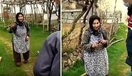İhtiyaçları Olup Olmadığını Soran Jandarma Ekiplerine 'Üzümler Çıkınca Gelin Bak, Gücenirim' Diyen Güzel Yürekli Teyze