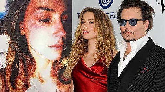 Amber Heard, evlilikleri süresince Depp'ten defalara kez şiddet gördüğünü iddia etmişti.
