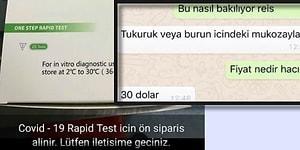 AKP Milletvekilinin Oğlu Koronavirüs Testlerini 30 Dolara Satıyor İddiası Büyük Tepki Gördü