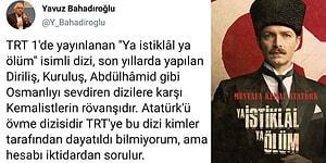 Atatürk'ü Övmenin Hain Bir Plan Olduğunu İma Eden ve İktidarı Suçlayan Yavuz Bahadıroğlu'na Tepkiler Devam Ediyor