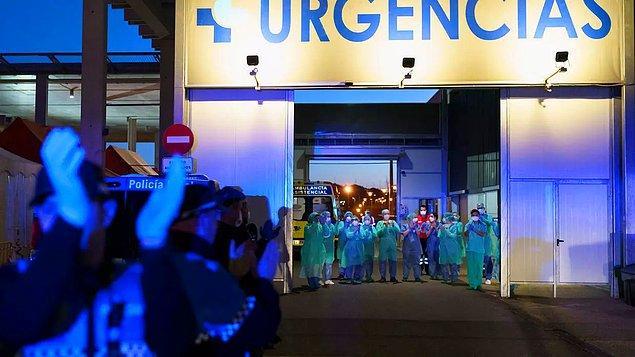 İspanya'da hayatını kaybedenlerin sayısı 20 bin 852'ye yükseldi