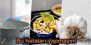 Hepimizin Hünerlerini Gösterdiğini Düşünerek Farkında Olmadan Yaptığı 15 Mutfak Hatası