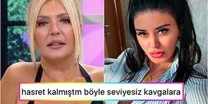 Koşun, Kaos Var! Ebru Polat ile Kendisine 'Şişme Bebek' Diyen Sunucu Seda Akgül Birbirine Girdi