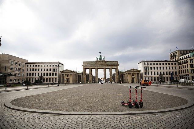 Almanya'da vaka sayısı 65 bin 516'ya yükseldi