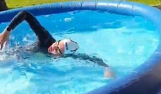 Olimpik Sporcunun Karantinadayken Formda Kalmak İçin Bulduğu Efsane Çözüm