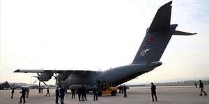 Çeşitli Sağlık Malzemeleri Gönderildi: Ankara'dan Havalanan Uçak İspanya'ya İniş Yaptı