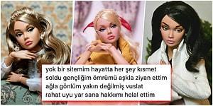 Onlar da Dertli! Aşk Acısı Çeken Barbie Bebeklerin Her Birinde Kendinizi Bulacağınız Arabeske Düşmüş Halleri