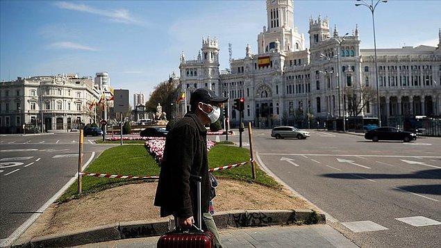 İspanya'da son 24 saatte 950 kişi koronavirüsten öldü