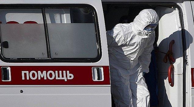 Rusya'da koronavirüs vaka sayısı 3 bin 500'ü aştı