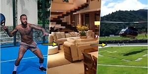 Ünlü Futbolcu Neymar'ın Arkadaşlarıyla Birlikte Kendini Koronavirüs Yüzünden İzole Ettiği 9 Milyon Dolarlık Lüks Villası