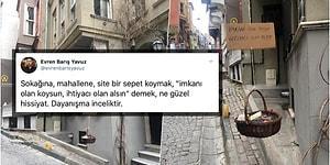 İyi ki Varsınız! Bize Yine Bizim Kucak Açtığımız Bu Zor Zamanlarda İstanbul Balat'taki Dayanışma Göz Doldurdu