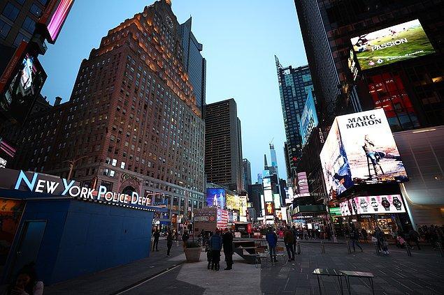 New York'ta vaka sayısı bir günde 8 bin 669 kişi arttı