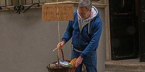Balat'ta Sarkıttığı Sepetle İyilik Hareketi Başlatmıştı: 'Gittikçe Paylaşmaya Daha Çok İhtiyacımız Olacak'