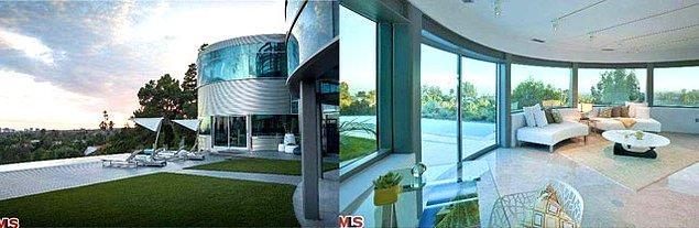 Bu eve taşınmadan önce de 80 bin dolarlık bir yenileme gerçekleştirmiş.