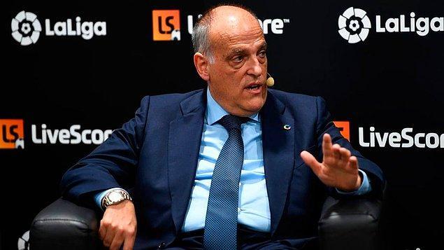 19. LaLiga başkanı Javier Tebas, sezonun tekrar başlamaması durumunda 1 milyar Euro; sezonun seyircisiz maçlarla tamamlanması halinde ise 350 milyon Euro zarar edeceklerini açıkladı.