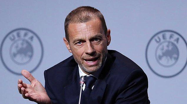"""17. UEFA Başkanı Ceferin: """"Maçlar tekrar başladığında, seyircisiz oynanacak. Bu bir zorunluluk gibi gözüküyor."""""""
