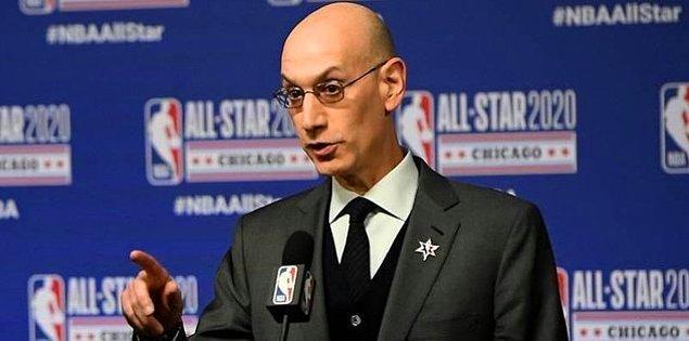 """13. Adam Silver: """"NBA'in devamı konusunda hafta boyunca arkadaşlarıma söylediğim şey; en azından Nisan ayı boyunca bir karar veremeyeceğimizi kabul etmemiz gerektiği yönünde. 1 Mayıs'a dek, bu konuda bir şey söylememizin erken olduğunu düşünüyorum."""""""