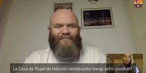 La Casa de Papel'in Helsinki'si, 'Helsinki Olmasaydın Hangi Şehir Olmak İsterdin?' Sorusuna 'İstanbul' Dedi