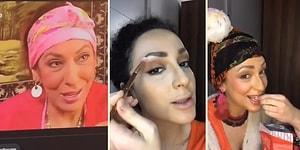 Feratlar ve Küpekler Giremez: Makyajla Kendini Cennet Mahallesi'nin Efsane Karakteri Pembe'ye Dönüştüren Kadın