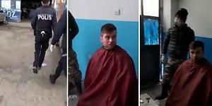 Depoda Saç Tıraşına Polis Baskını: Ne Yapacaklarını Şaşırdılar!