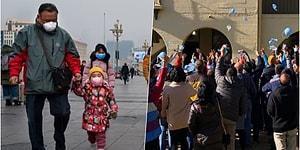 76 Günlük Karantina Sürecini Bitiren Wuhan'da Hayat Normale Dönmeye Başladı!