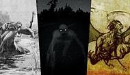 Yüzyıllar Boyunca Tüm Dünyanın Kalbine Korku Salıp Üç Buçuk Attırmış Korkutucu Mitolojik Yaratıklar