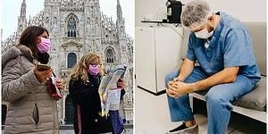 Koronavirüsten En Çok Etkilenen Ülkelerden Biri Olan İtalya'da Yaşayan İnsanların İçinde Bulunduğu Trajik Durumlar