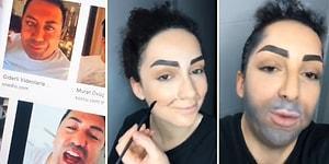 Nekşfliş Bana Ulaşsın: Makyajla Kendini Murat Övüç'e Dönüştüren Kadın