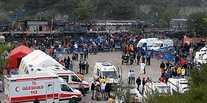 Soma'da Maden Ocağında Göçük: 1 İşçi Hayatını Kaybetti, 2 İşçi Göçük Altında