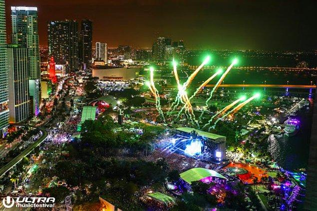 2. Miami Ultra Müzik Festivali de Mart ayında olması planlanıp gerçekleşememiş festivallerden biriydi.