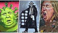 Koronavirüsü Sanata Dökerek Duvarlarda Hayat Bulmasına Olanak Tanıyan 40 Graffiti Sanatçısı