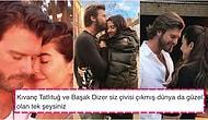 Türkiye'nin Tartışmasız En Romantik Çifti Olan Başak Dizer ile Kıvanç Tatlıtuğ'un Kocaman Bir Maşallahı Hak Eden Aşkları
