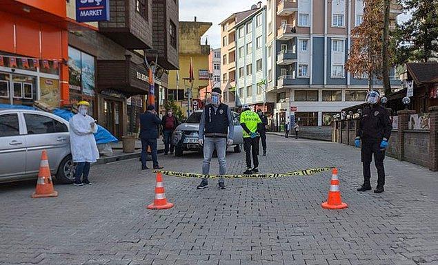 Rize'nin Kalkandere ilçesi karantinaya alındı