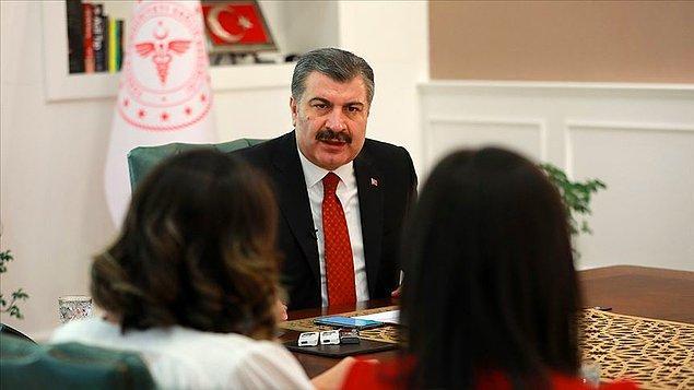 Türkiye'de can kaybı bin 518'e çıktı