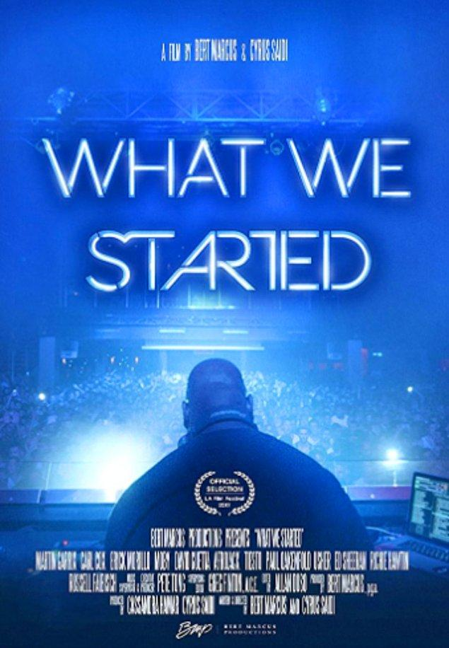 15. 'WHAT WE STARTED'