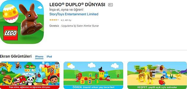19. LEGO® DUPLO® DÜNYASI