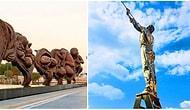 Filmlerden ve Romanlardan Daha Büyük Bir Hikaye Anlatan 10 Harika Heykel