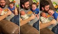 Yeni Doğan Kardeşini Görünce Keyiften Dört Köşe Olan, Yanından Alınınca da Hüngür Hüngür Ağlayan Ufaklık