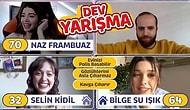KARANTİNADA KİMLESİN OYNADIK! Bilge Su Işık, Naz Frambuaz, Selin Kidil! Açık Artırmalı Yarışma!